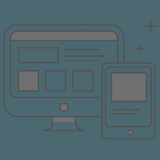 Privat kunder Fyn, komputer og tablet ikon
